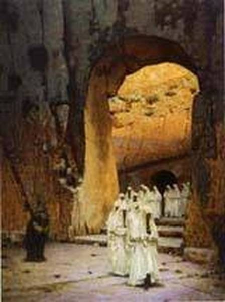 Jerusalem kings tombs 1884 1885 xx the russian museum st petersburg russia